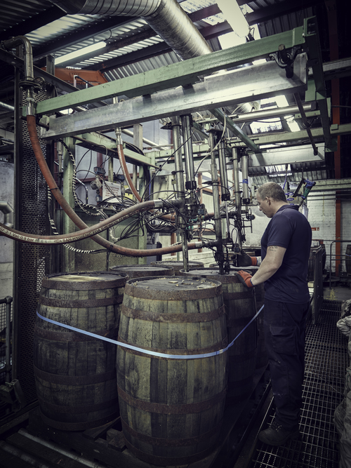 Barrel Filling with Operative - Loch Lomond Group