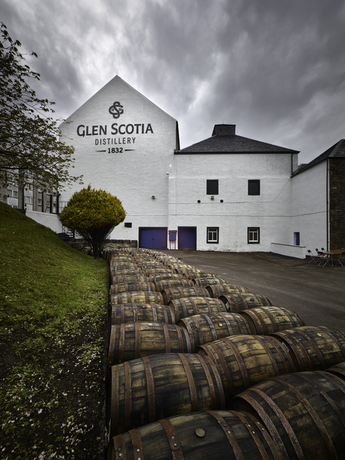 Loch Lomond Group Distillery with Signage