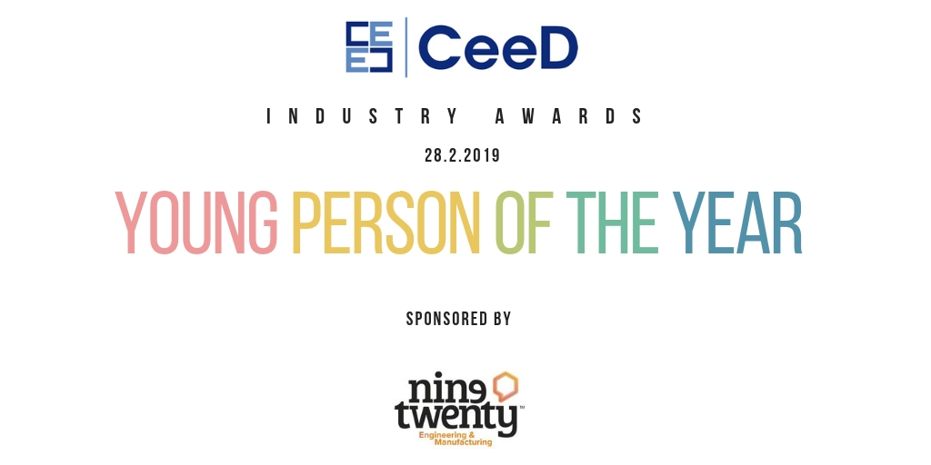 CeeD Awards Young Person of the Year - Nine Twenty Engineering & Manufacturing