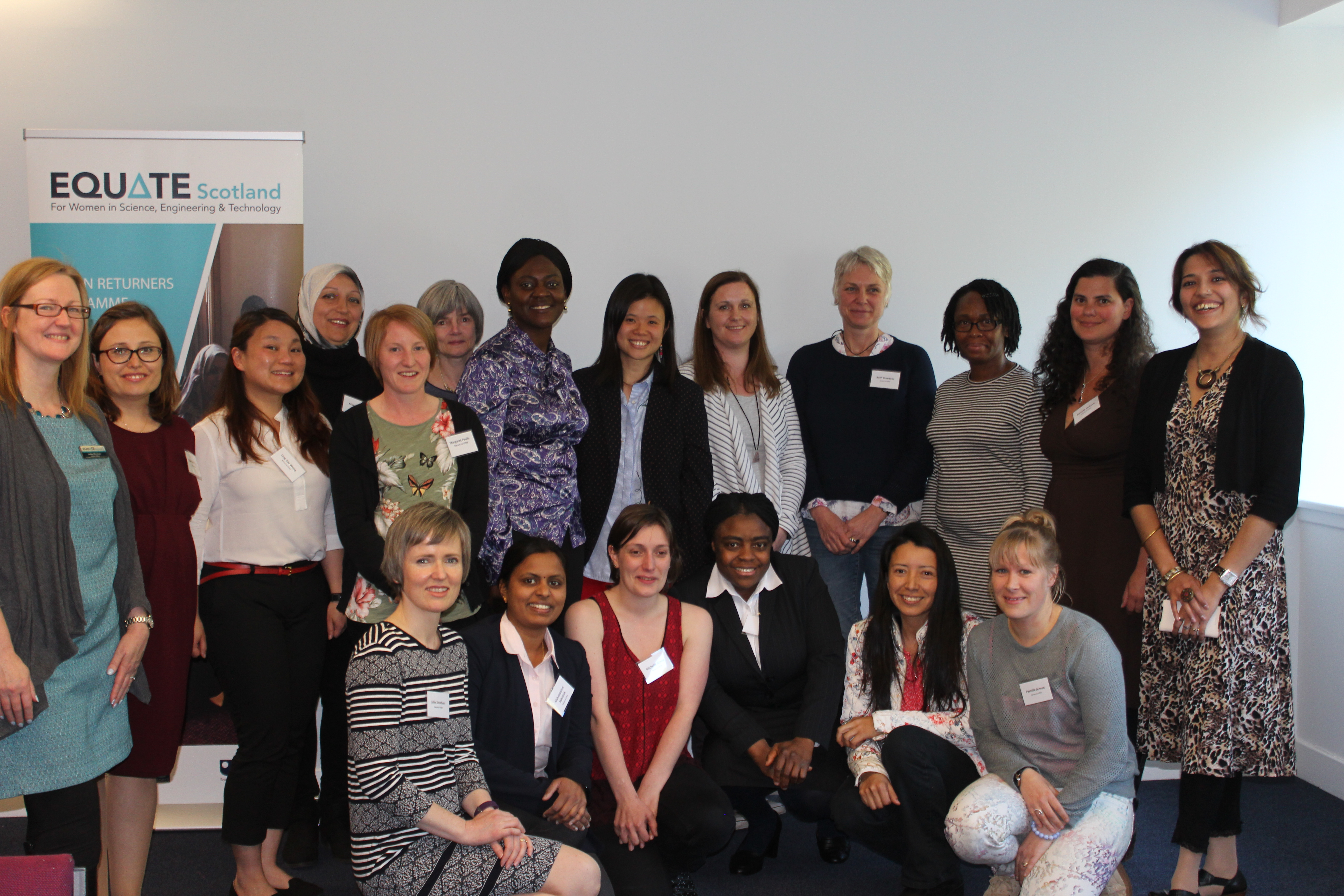 An interview with Lesley Macniven, Women Returners Programme Lead at Equate Scotland.
